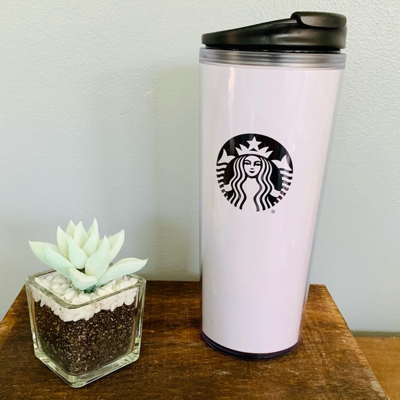 Starbucks Tumbler 16oz White with Green Logo